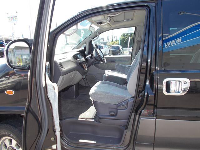 エクシードI 4WD軽油 サンルーフ フロント&サイドガード(12枚目)