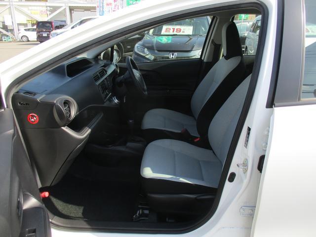 トヨタ アクア L 買取車1オーナー禁煙CDオートACキーレスETC横滑防止