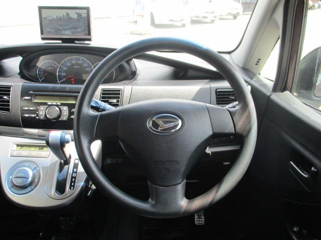 X VS II 禁煙車 CD ポータブルオーディオ フルセグ ETC フォグ ヘッドライトレベライザー スマートキー 電格ミラー ベンチシート フルフラットシート 純正14インチアルミ ドアバイザー(13枚目)
