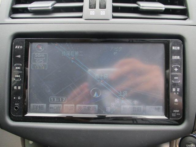 240S 4WD 禁煙車 5人乗り HDDナビ DVD AUX コーナーセンサー ETC TRC スマートキー&Pスタート オートAC クルコン ミラーウインカー オートライト HID フォグ 17インチアルミ(3枚目)