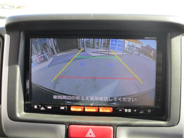 E 4WD 禁煙1オーナー 衝突軽減 地デジSDナビ ブルートゥース バックカメラ オートAC シートヒーター 左側電動ドア スマートキー&プッシュスタート オートライト フォグ HID 14インチアルミ(4枚目)