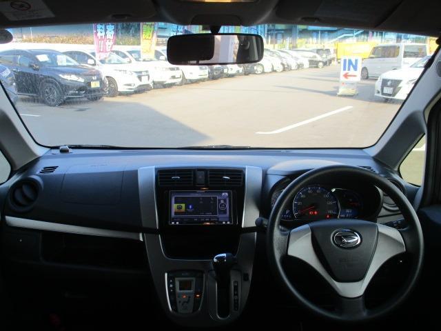 カスタム X SA 禁煙 衝突軽減 地デジSDナビ ブルートゥース アイドリング DVD スマートキー Pスタート LEDヘッドライト フォグ 横滑り防止 ミラーウインカー オートAC オートライト 14インチアルミ(2枚目)