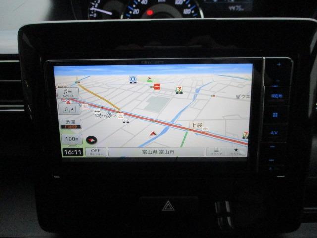 ハイブリッドX 禁煙車 衝突軽減 地デジSDナビ Bluetooth DVD再生 バックカメラ LEDライト フォグ オートライト シートヒーター コーナーセンサー スマートキー アイドリング ETC 純正アルミ(4枚目)