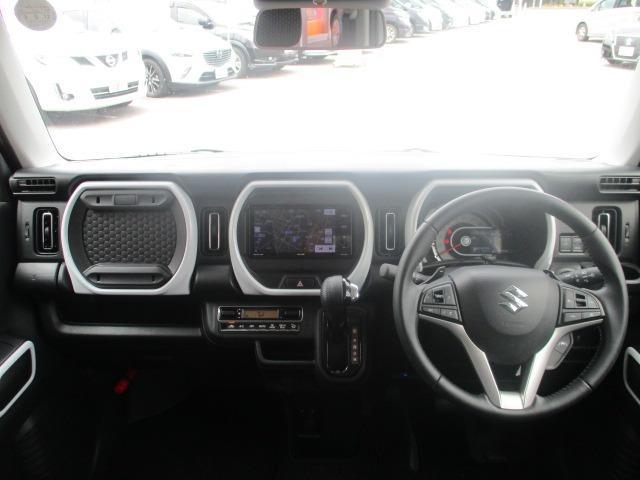ハイブリッドXターボ 禁煙車 地デジSDナビ 衝突軽減 DVD Bluetoothオーディオ レーンアシスト 追跡クルコン LEDヘッドライト 純正15インチアルミ アイドリングストップ シートヒーター バックカメラ(2枚目)