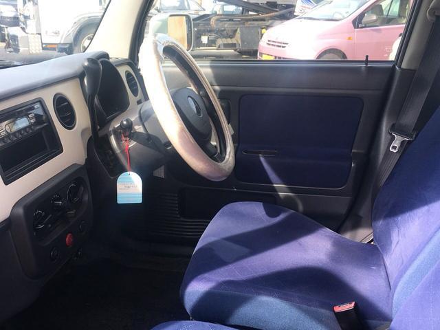 G キーレス CD 内装色ブルー Wエアバッグ 軽自動車(19枚目)