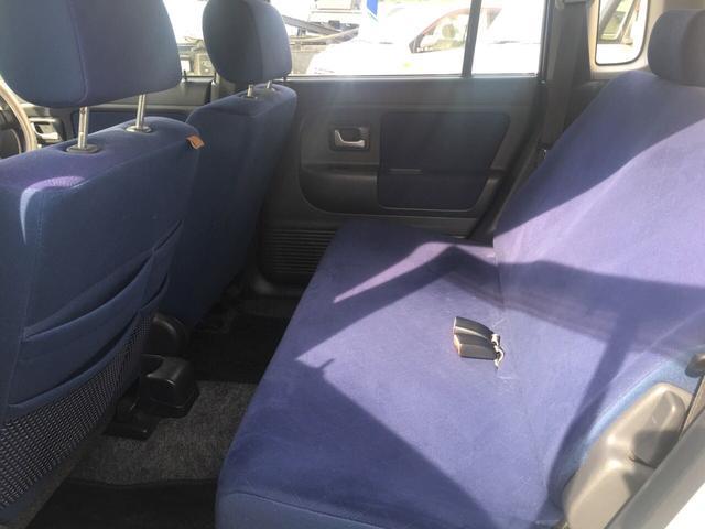 G キーレス CD 内装色ブルー Wエアバッグ 軽自動車(20枚目)