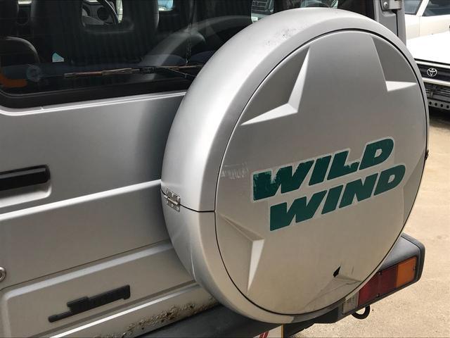 ワイルドウインド 4WDターボ シエラ15インチAW(14枚目)