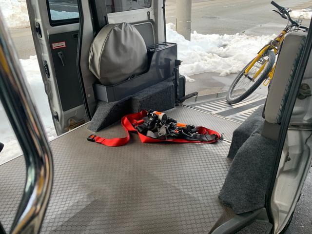 スローパー 両側スライドドア 後列補助席 パワーウィンドウ バギーバイク 車内抗菌 コート済み(45枚目)
