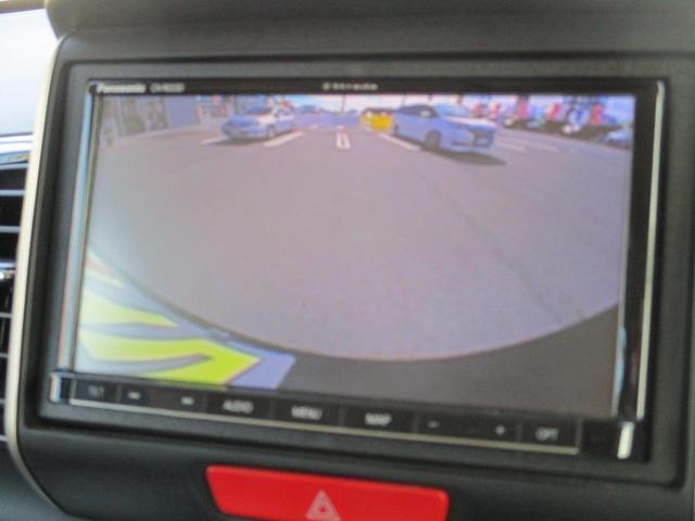 G ターボSSブラックスタイルパッケージ 禁煙 両側電動スライドドア 衝突軽減 フルセグナビ バックカメラ ETC リヤシートスライド シートヒーター イオンクリーン クルーズコントロール パドルシフト ブルートゥース 専用15インチアルミ(4枚目)