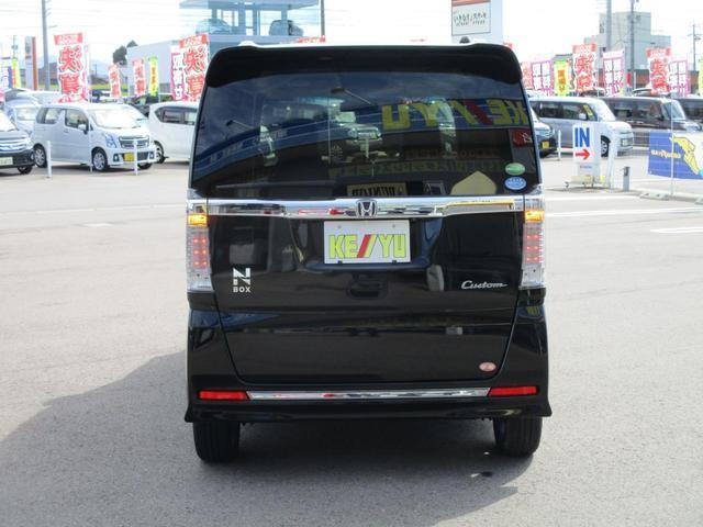 G ターボSSブラックスタイルパッケージ 禁煙 両側電動スライドドア 衝突軽減 フルセグナビ バックカメラ ETC リヤシートスライド シートヒーター イオンクリーン クルーズコントロール パドルシフト ブルートゥース 専用15インチアルミ(6枚目)