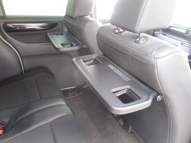 シートバックテーブル(運転席、助手席)