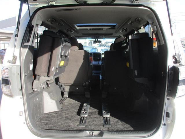 3.5Z プラチナムセレクション 禁煙車 走行39408km 1オーナー サンルーフ 両側自動ドア メーカーHDDナビ 地デジ バックカメラ ETC ブルートゥース パワーバックドア オットマン クルーズコントロール AC100V電源(22枚目)