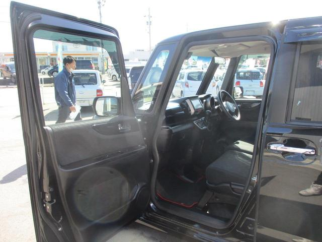 G・ターボAパッケージ 禁煙車 走行31400km あんしんpkg 両側自動ドア SDナビ スマートキー 横滑り防止 パドルシフト 15インチアルミ エアロ HIDライト オートライト(18枚目)