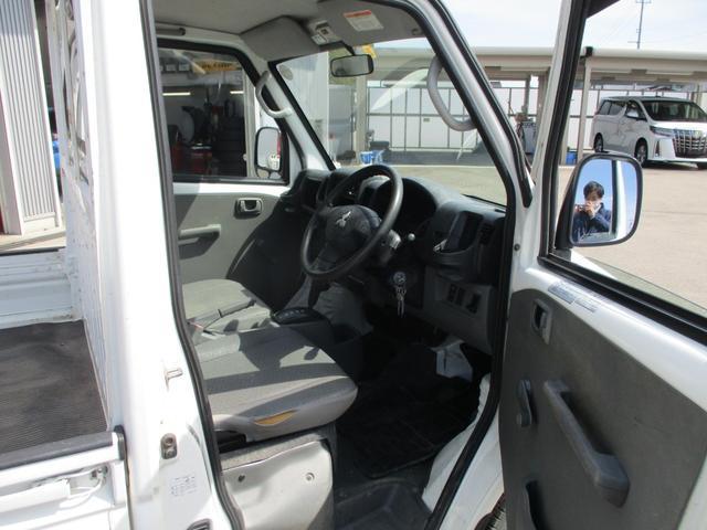 VX-SE 4WD 三方開 3速オートマ パワステ エアコン 整備記録簿8枚 2016年製ヨコハマスタッドレス 荷台ゴムマット(10枚目)