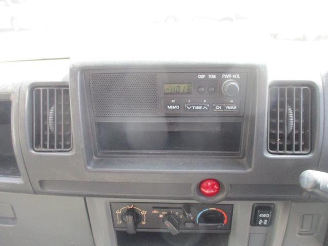 VX-SE 4WD 三方開 3速オートマ パワステ エアコン 整備記録簿8枚 2016年製ヨコハマスタッドレス 荷台ゴムマット(17枚目)