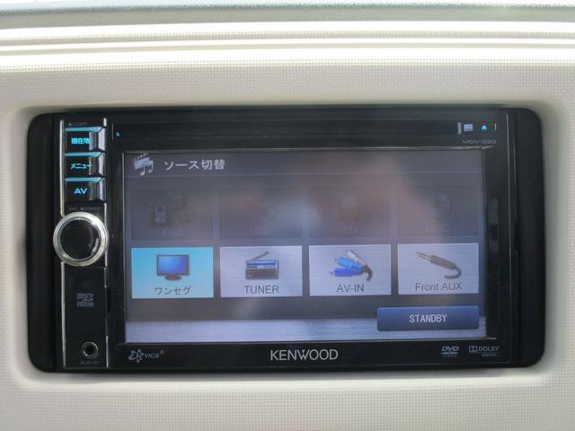 ココアプラスX 禁煙 メモリーナビ 1セグTV スマートキー ベンチシート CD&DVD再生 USB接続 AUX&USB接続 オートエアコン(4枚目)