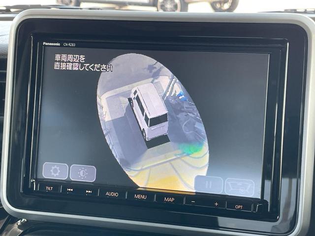 ハイブリッドXSターボ 禁煙 走行29068km 8型地デジナビ 全方位カメラ クルコン 両側自動ドア スマートキー 衝突軽減システム レーンキープ ドラレコ LEDライト ハーフレザー シートヒーター フルエアロ HUD(4枚目)