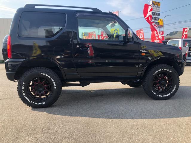 XC 4WD AT車 フル装備 キーレスエントリー 社外アルミホイール 新品タイヤ 運転席エアバッグ 助手席エアバッグ ABS ETC シートヒーター 電動格納ミラー JB23型 2インチリフトアップ(7枚目)
