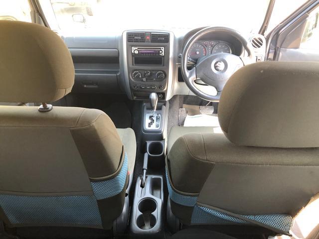 XC 4WD AT車 フル装備 キーレスエントリー 社外アルミホイール 新品タイヤ 運転席エアバッグ 助手席エアバッグ ABS ETC シートヒーター 電動格納ミラー JB23型 2インチリフトアップ(17枚目)