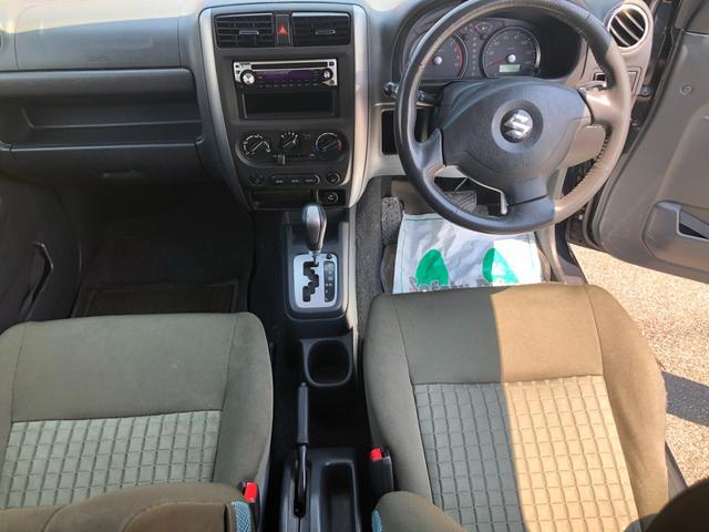 XC 4WD AT車 フル装備 キーレスエントリー 社外アルミホイール 新品タイヤ 運転席エアバッグ 助手席エアバッグ ABS ETC シートヒーター 電動格納ミラー JB23型 2インチリフトアップ(18枚目)