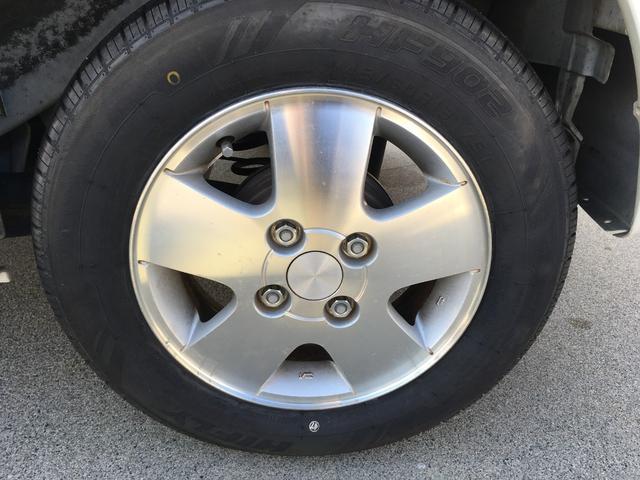 新品タイヤ装着してます。