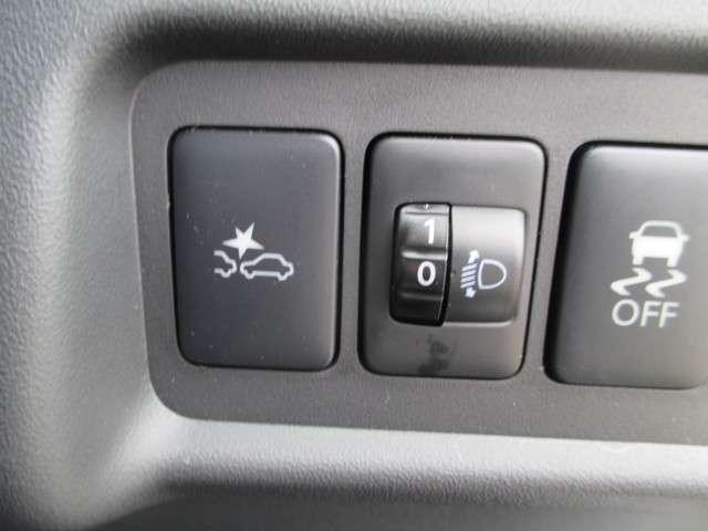 衝突軽減ブレーキ付でうっかりをサポート。
