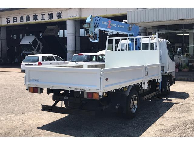 トラック 4段クレーン MT 修復歴無 PW ホワイト(4枚目)
