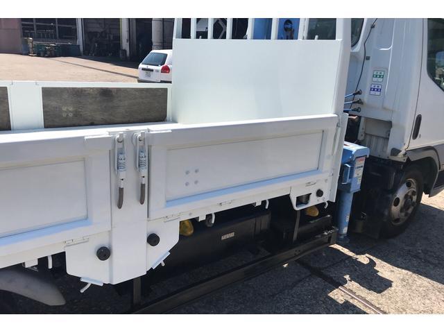 トラック 4段クレーン MT 修復歴無 PW ホワイト(10枚目)