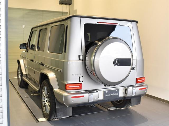 G550 レーダーセーフティパッケージ AMGライン 黒革 ガラススライディングルーフ Burmester TV ナビ ETC 20インチアルミホイール 正規ディーラー認定中古車 2年保証(12枚目)