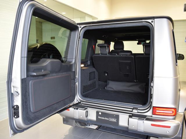 G550 レーダーセーフティパッケージ AMGライン 黒革 ガラススライディングルーフ Burmester TV ナビ ETC 20インチアルミホイール 正規ディーラー認定中古車 2年保証(13枚目)