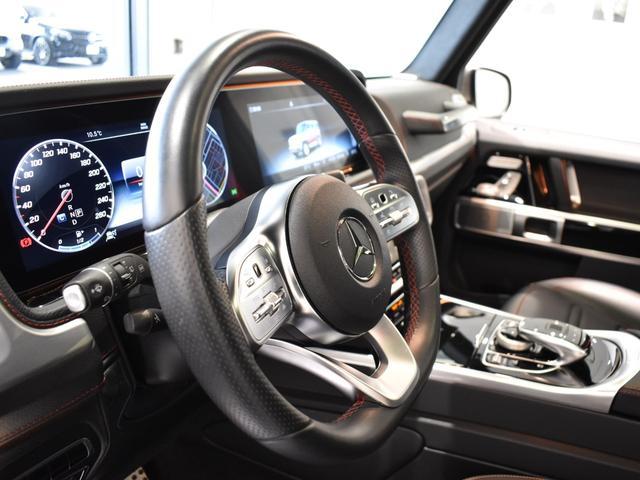 G550 レーダーセーフティパッケージ AMGライン 黒革 ガラススライディングルーフ Burmester TV ナビ ETC 20インチアルミホイール 正規ディーラー認定中古車 2年保証(28枚目)