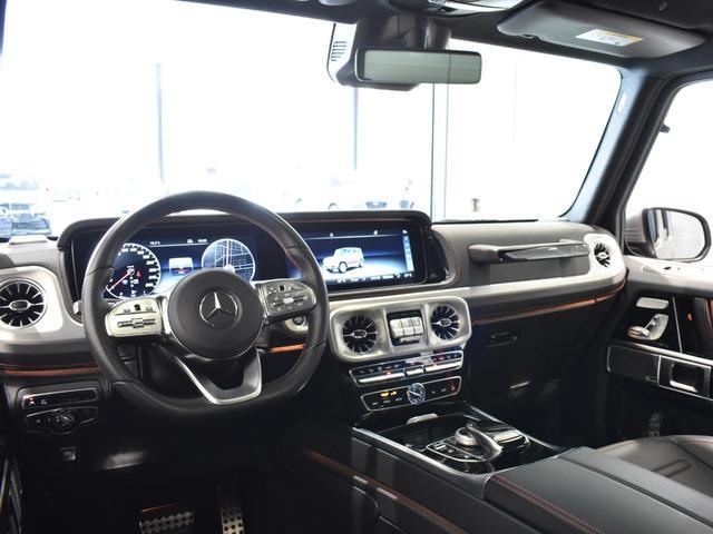 G550 レーダーセーフティパッケージ AMGライン 黒革 ガラススライディングルーフ Burmester TV ナビ ETC 20インチアルミホイール 正規ディーラー認定中古車 2年保証(58枚目)