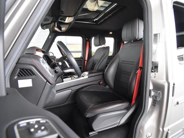 G550 レーダーセーフティパッケージ AMGライン 黒革 ガラススライディングルーフ Burmester TV ナビ ETC 20インチアルミホイール 正規ディーラー認定中古車 2年保証(76枚目)