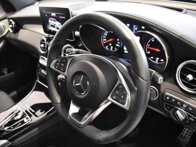 GLC220d 4マチックスポーツ(本革仕様) レーダーセーフティパッケージ 黒革 パノラミックスライディングルーフ Burmester エアバランスパッケージ TV ナビ ETC 19インチアルミホイール 正規ディーラー認定中古車 2年保証(30枚目)