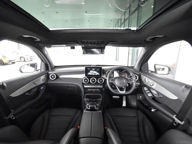 GLC220d 4マチックスポーツ(本革仕様) レーダーセーフティパッケージ 黒革 パノラミックスライディングルーフ Burmester エアバランスパッケージ TV ナビ ETC 19インチアルミホイール 正規ディーラー認定中古車 2年保証(44枚目)