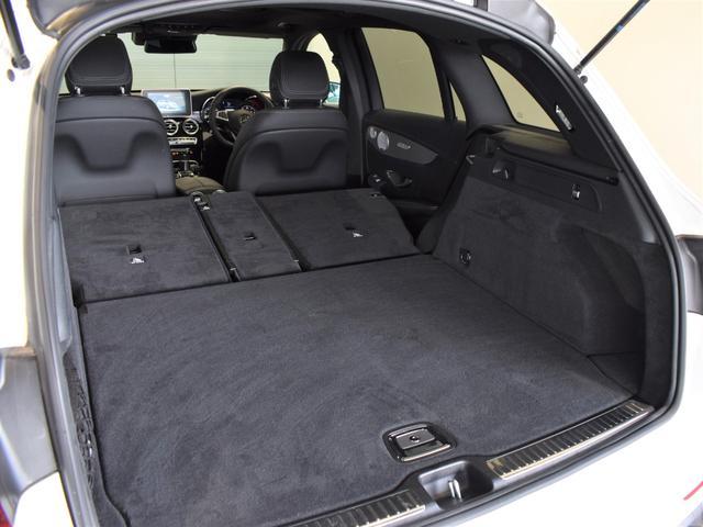 GLC220d 4マチックスポーツ(本革仕様) レーダーセーフティパッケージ 黒革 パノラミックスライディングルーフ Burmester エアバランスパッケージ TV ナビ ETC 19インチアルミホイール 正規ディーラー認定中古車 2年保証(55枚目)