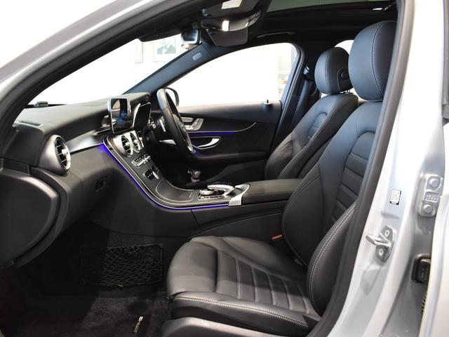 C220d ワゴンアバンギャルド AMGライン レーダーセーフティパッケージ レザーエクスクルーシブパッケージ 黒革 Burmester パノラミックスライディングルーフ TV ナビ 18インチアルミホイール 正規ディーラー認定中古車 2年保証(20枚目)