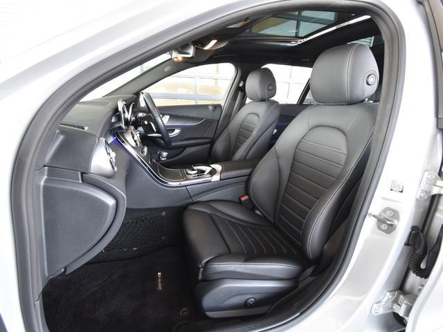 C220d ワゴンアバンギャルド AMGライン レーダーセーフティパッケージ レザーエクスクルーシブパッケージ 黒革 Burmester パノラミックスライディングルーフ TV ナビ 18インチアルミホイール 正規ディーラー認定中古車 2年保証(44枚目)