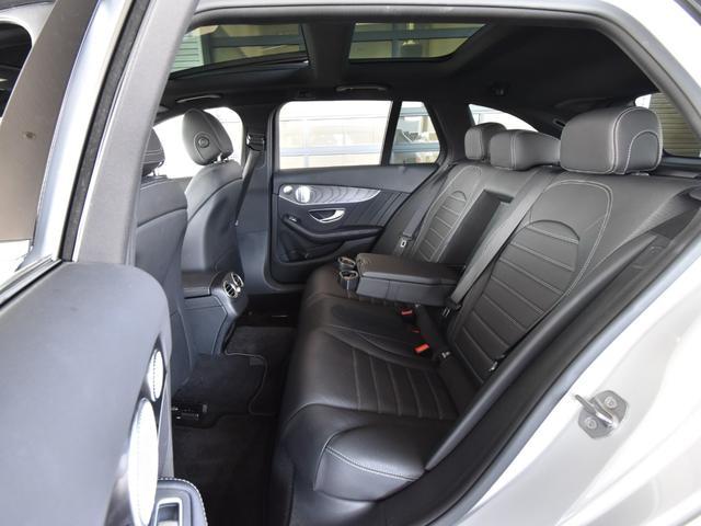 C220d ワゴンアバンギャルド AMGライン レーダーセーフティパッケージ レザーエクスクルーシブパッケージ 黒革 Burmester パノラミックスライディングルーフ TV ナビ 18インチアルミホイール 正規ディーラー認定中古車 2年保証(45枚目)