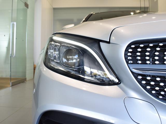 C220d ワゴンアバンギャルド AMGライン レーダーセーフティパッケージ レザーエクスクルーシブパッケージ 黒革 Burmester パノラミックスライディングルーフ TV ナビ 18インチアルミホイール 正規ディーラー認定中古車 2年保証(50枚目)