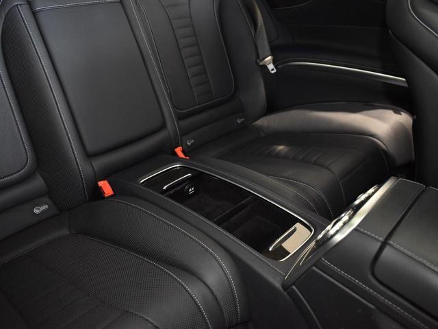 S550 クーペ AMGライン レーダーセーフティパッケージ AMGスタイリングパッケージ スワロフスキークリスタルパッケージ パノラミックルーフ 黒革 全周囲カメラ Burmester 20AW 正規ディーラー認定中古車 2年保証(42枚目)