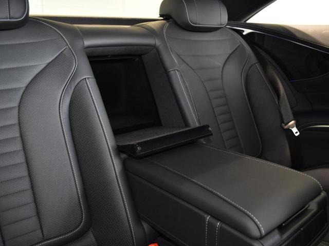 S550 クーペ AMGライン レーダーセーフティパッケージ AMGスタイリングパッケージ スワロフスキークリスタルパッケージ パノラミックルーフ 黒革 全周囲カメラ Burmester 20AW 正規ディーラー認定中古車 2年保証(43枚目)