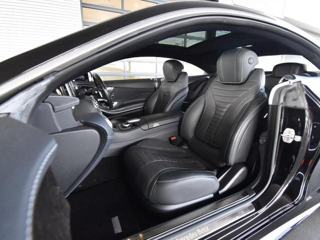 S550 クーペ AMGライン レーダーセーフティパッケージ AMGスタイリングパッケージ スワロフスキークリスタルパッケージ パノラミックルーフ 黒革 全周囲カメラ Burmester 20AW 正規ディーラー認定中古車 2年保証(46枚目)