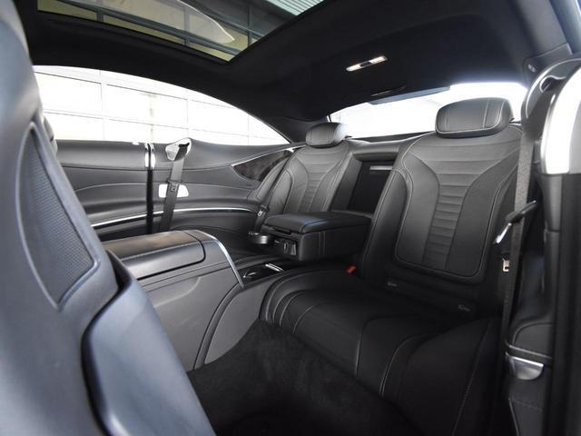 S550 クーペ AMGライン レーダーセーフティパッケージ AMGスタイリングパッケージ スワロフスキークリスタルパッケージ パノラミックルーフ 黒革 全周囲カメラ Burmester 20AW 正規ディーラー認定中古車 2年保証(78枚目)