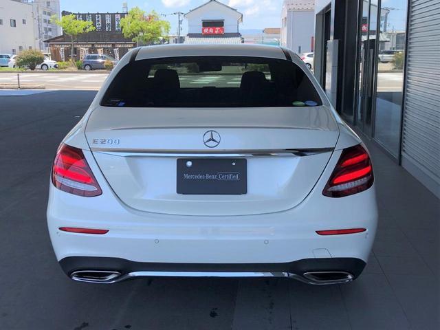 E200 アバンギャルド スポーツ レーダーセーフティパッケージ AMGスタイリングパッケージ 全周囲カメラ フルセグTV ナビ 19インチアルミホイール ETC 正規ディーラー認定中古車 2年保証(6枚目)