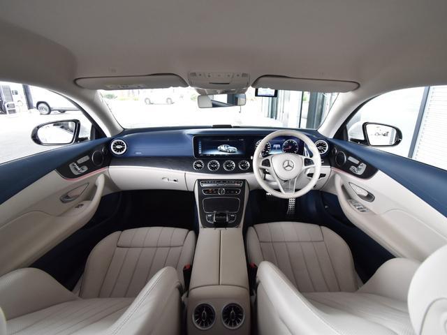 E400 4マチック クーペ スポーツ レーダーセーフティパッケージ AMGスタイリングパッケージ リラクゼーション機能 本革シート フルセグTV ナビ 19インチアルミホイール 正規ディーラー認定中古車 2年保証(17枚目)