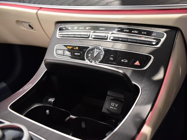 E400 4マチック クーペ スポーツ レーダーセーフティパッケージ AMGスタイリングパッケージ リラクゼーション機能 本革シート フルセグTV ナビ 19インチアルミホイール 正規ディーラー認定中古車 2年保証(33枚目)