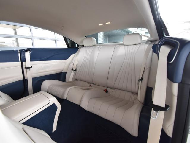 E400 4マチック クーペ スポーツ レーダーセーフティパッケージ AMGスタイリングパッケージ リラクゼーション機能 本革シート フルセグTV ナビ 19インチアルミホイール 正規ディーラー認定中古車 2年保証(45枚目)