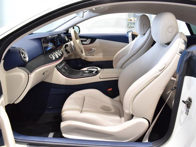 E400 4マチック クーペ スポーツ レーダーセーフティパッケージ AMGスタイリングパッケージ リラクゼーション機能 本革シート フルセグTV ナビ 19インチアルミホイール 正規ディーラー認定中古車 2年保証(62枚目)