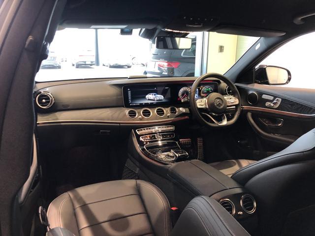 E200 アバンギャルド AMGライン レーダーセーフティパッケージ AMGスタイリングパッケージ 全周囲カメラ 黒革シート フルセグTV ナビ 19インチアルミホイール 正規ディーラー認定中古車 2年保証(9枚目)